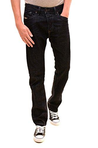 Diesel Herren Authentic Slim Niedrige Taille Darron L.32 Jeans Dunkelblau W31