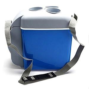 Autoinbox - Nevera portátil para Coche, para frío y caliente, 12V, 7,5litros, azul