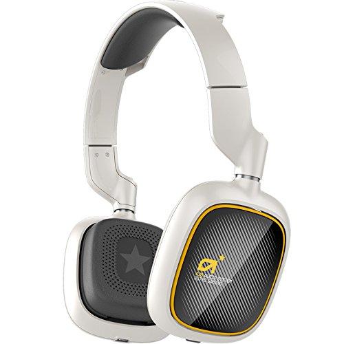 ASTRO Gaming A38 Binaural Diadema Blanco Auricular con micrófono - Auriculares con micrófono (PC/Juegos, Binaural, Diadema, Blanco, Inalámbrico, 10 m)