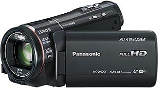 Panasonic HC-X920 3D Ready HD 3MOS Digital Camcorder with Wi-fi (black)