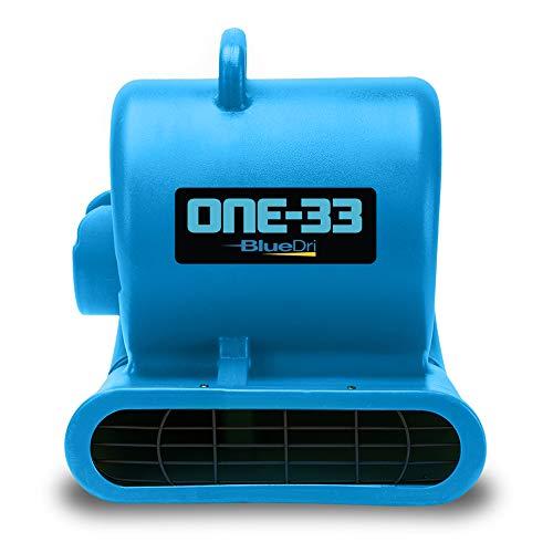 BlueDri One-33 Air Mover, 1/3 HP 2900 CFM...