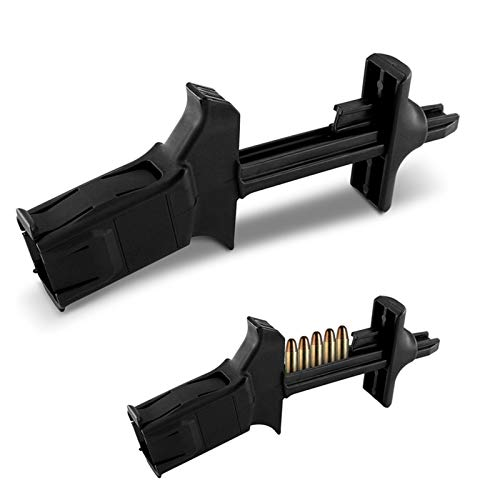 Universal Magazine Speed Loader for 9mm and .40 Tactical Fast Loader System for Single and Double-Stack Magazines