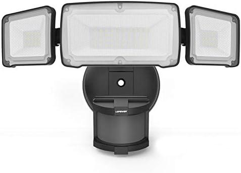 LEPOWER 35W LED Security Lights Motion Sensor Light Outdoor 3500LM Motion Security Light Waterproof product image