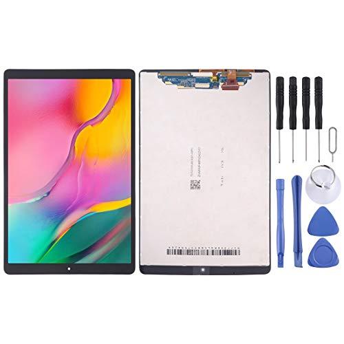 BEIJING LCD-Screen Pantalla LCD de Pantalla LCD y Montaje Completo de digitalizador para Galaxy Tab A 10.1 (2019) (versión WiFi) SM-T510 / T515 (Color : Negro)