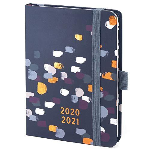 Boxclever Press Perfect Year Kalender 2020 2021 A6. Schülerkalender 2020 2021 von Aug. '20 - Aug. '21. Kompakter Wochenplaner mit Monatsübersichten & Platz für Notizen und To-dos