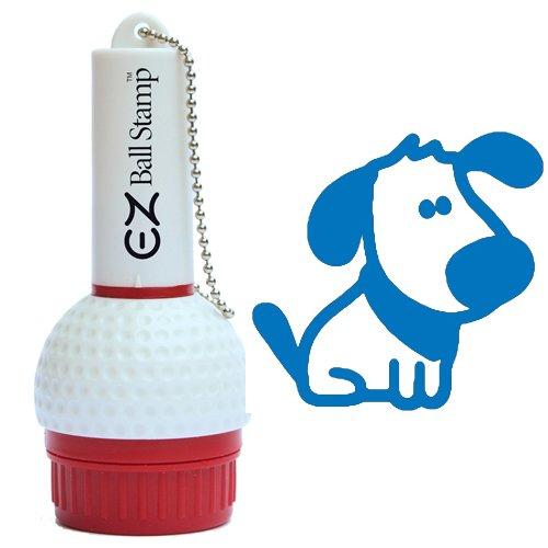 ProMarking EZBallStamp Golf Ball Stamp - Blue Dog