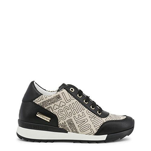 Love Moschino Logo Print Runner Femme Baskets Mode Multicolore
