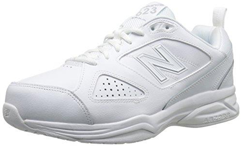 New Balance Men's 623 V3 Casual Comfort Cross Trainer, White, 9 W US