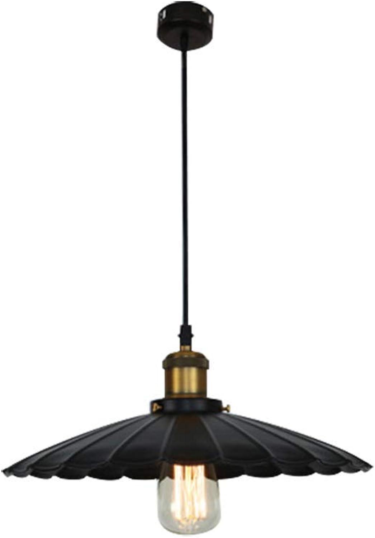 ZYY  Loft rétro lustre en fer forgé vent industriel créatif simple abat-jour en métal oeil éclairage intérieur salon chambre étude porche villa luminaire 220   240W A +++