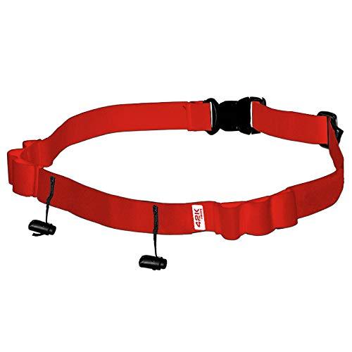 42K Running - Cinturon portadorsal 42K Bib Belt Red