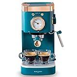 SXZSB Máquina De Café, 20 Barras De Extracción De Alta Presión Leche Espumosa Automática, Capuchino Y Latte, 1050W, Tanque De Agua De 1.2 L