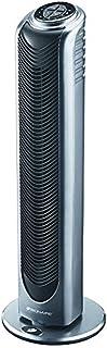 Bionaire - BT19 - colonne ventilateur - modèle à oscillation avec télécommande et minuterie - hauteur 74cm - argent/noir