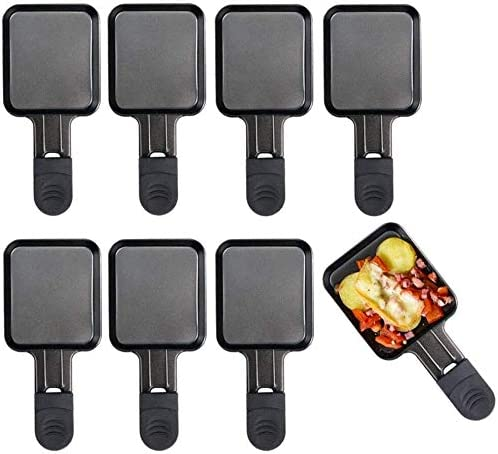 Accessories for Raclette Grill Non-Stick Coating 8Pcs Raclette Pan for Raclette Grill
