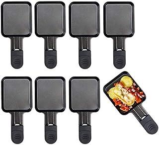 HengBO Mini Poêles à Raclette, Poêles Universelles pour Grill électrique, Lot de 8