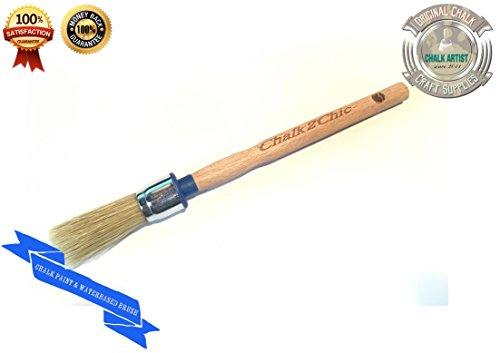 #BB20, 20 mm, motivo: pure, Gesso-Vernice con setole sintetiche stile SHABBY CHIC furniture-Pennello per pittura, 5 cm