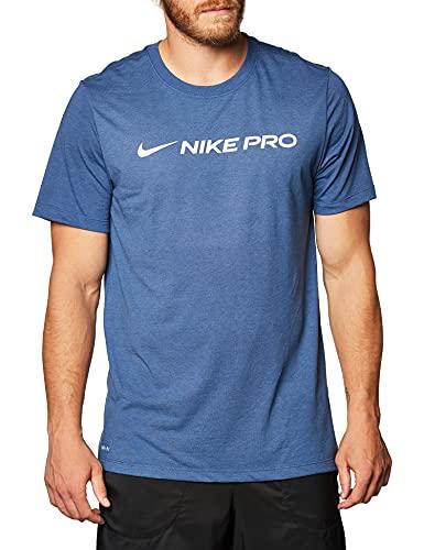Nike Herren Dry Pro T-Shirt, Mystic Navy, L