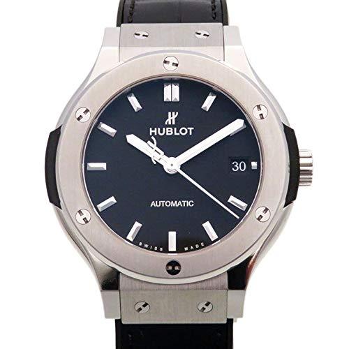 ウブロ HUBLOT クラシックフュージョン チタニウム 565.NX.1171.LR ブラック文字盤 新品 腕時計 レディース (W162088) [並行輸入品]