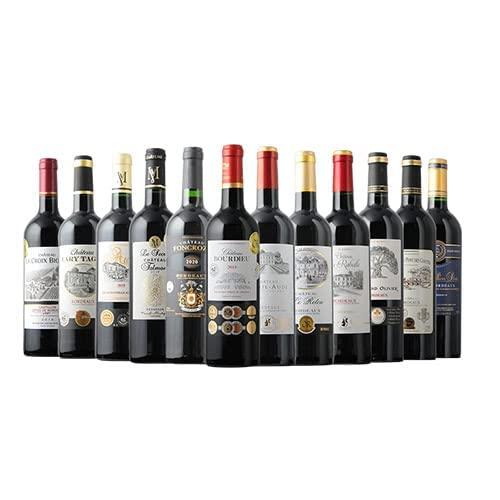 ワインショップソムリエ 今だけ8金受賞「AOC格上ボルドー」が入る!金賞ボルドー12本セット(赤ワインのみ12本)