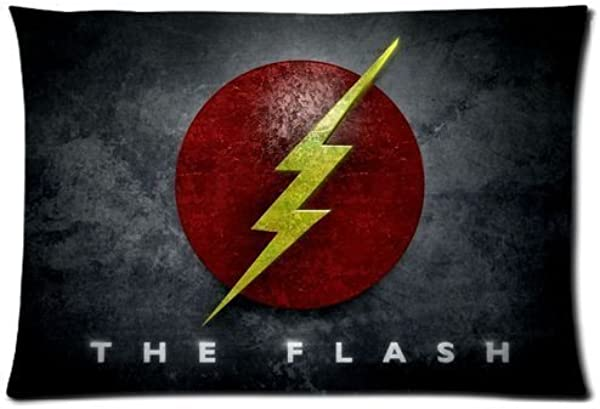 The Flash Superhero Pillow Case Cover 20 X30 Pillowcase Cover Two Sides