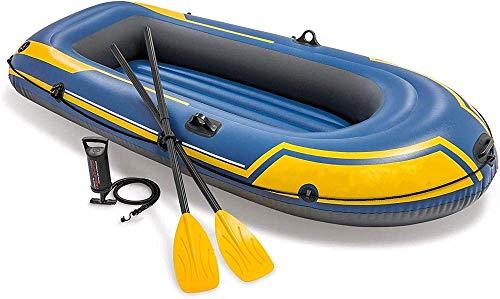 YYhkeby Kayak, 2/3 Person Tragbare Falten Aufblasbare Boot Kayak, PVC Doppel Verdickter Aufblasbarer Fischerboot Kanu, Schlagen Jialele (Color : for 2 Person)