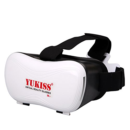 『Yukiss 3D メガネ VR ゴーグル glasses reality 新型5世代目 スーパークリアレンズ採用で3D酔いを大幅改善 焦点・視界距離を調整可能』の1枚目の画像