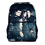 The-Vampire-Diaries Boys and girls 16-inch school lightweight and versatile backpack