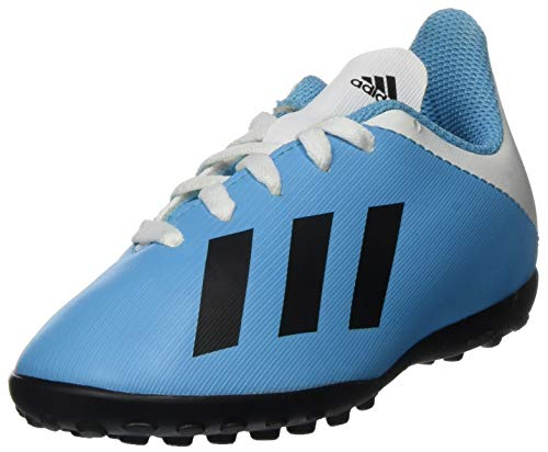 adidas Unisex-Child F35347_29 Turf Football Trainers, Blue, EU