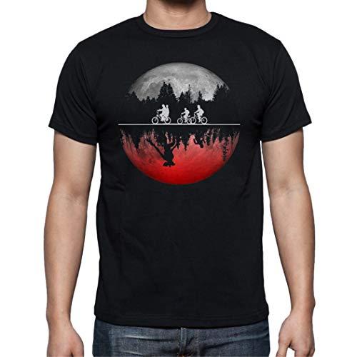 Camiseta de Hombre Stranger Things Once Series Retro 80 Elev