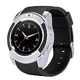 Ashley GAO Práctica Impermeable Reloj Inteligente de los Hombres Con la Cámara Smartwatch Podómetro de Monitoreo de la Frecuencia Cardíaca Tarjeta SIM Reloj de Pulsera