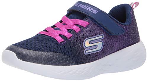 Skechers Kinder Low GO Run 600 - Sprinkle Splash,Blau 82078L NVPK blau 533137