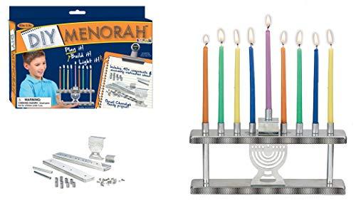 Rite Lite D-I-Y Menorah Kit Chanukah Crafts Game 9 in Hanukkah Menorah Kit