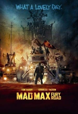 MAD MAX : Fury Road - Tom Hardy - U.S Movie Wall Poster Print - 43cm x 61cm / 17 Inches x 24 Inches A2