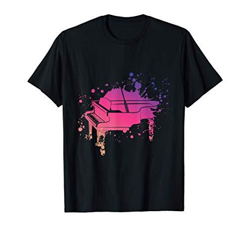 Piano Design, Klavier Design, Pianisten Geschenk T-Shirt