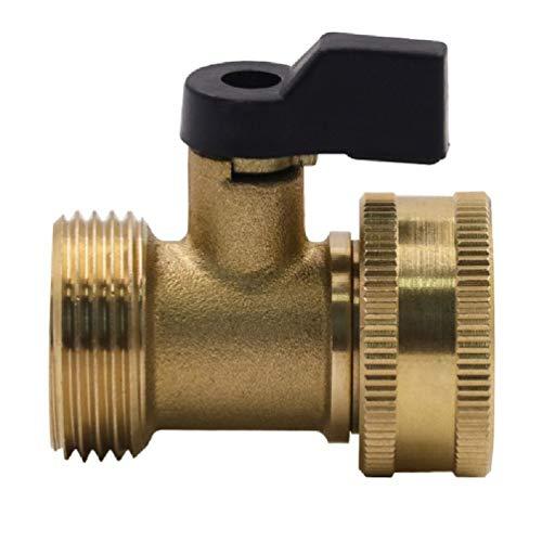 N/A/3/4 pulgadas manguera de jardín 1 manera de apagar válvulas de agua grifo de la tubería de agua Conector herramienta americana/europea rosca grifo conector
