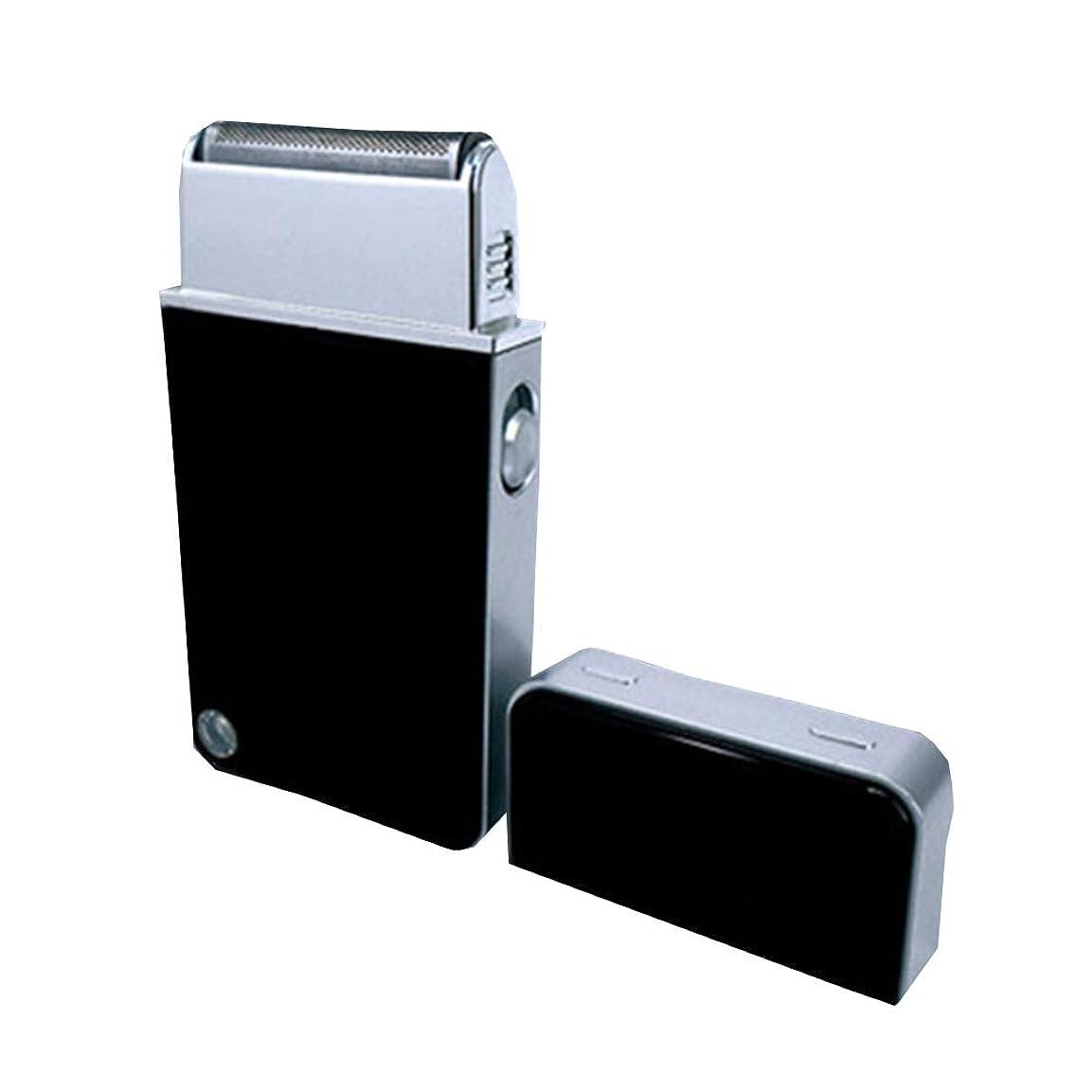 インストラクターカーテン成熟したメンズシェーバー USB充電式 電気シェーバー ひげ剃り コンパクト 携帯用シェーバー 旅行用 軽量 ギフトCSH004