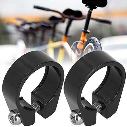 Snufeve6 Clip para Tubo de Bicicleta, Clip para tija de sillín de Bicicleta, 2 Piezas de Accesorios de Ciclismo para Tubo de tija de sillín de Bicicleta con un diámetro de 27,2 mm