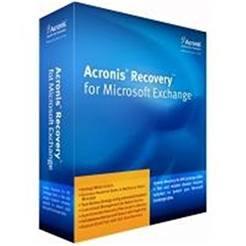Acronis Recovery for MS Exchange for SBS incl. AAP Box DVD englisch