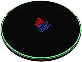 iSMRT 15W Fast Wireless Charger Pad, Qi Certified Compatible with iPhone 11/11 PRO/XS/XS Max/XR/X/8/8 Plus, Samsung Galaxy S10/S10+/S10E/Note 9/S9/S9+/Note 8/S8/S7 & All Qi-Enabled Phones