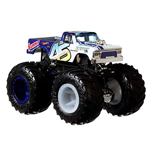 Hot Wheels Monster Trucks coches de juguetes 1:64 Bone Shaker (Mattel GNJ57) , colores/modelos surtidos