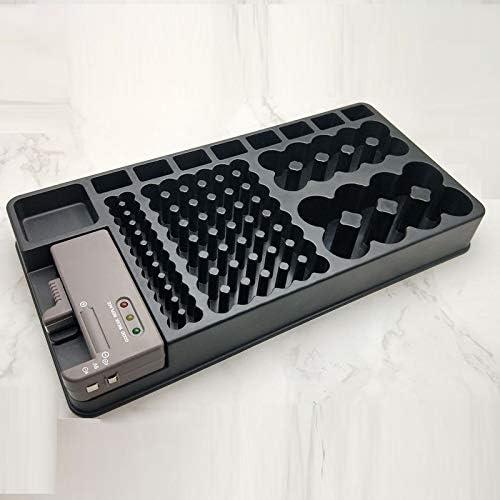 XiaoMinZhang Multifunctional Cash special price Washington Mall Battery Tester Storage Box
