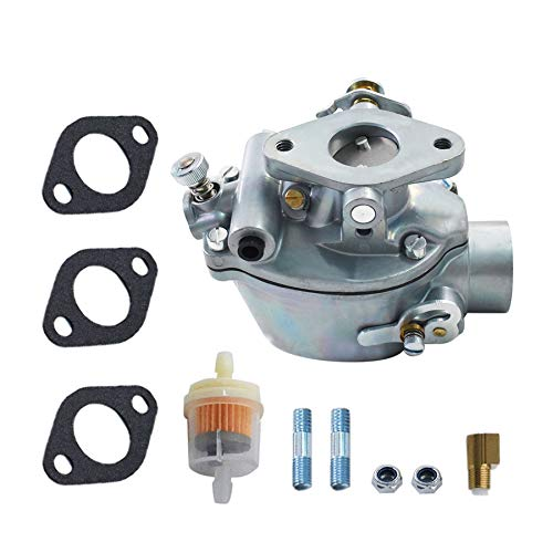 352376R92 Carburetor w/Gaskets Replacement for IH-Farmall Tractor A AV B BN C Super A Super C Replacement for Marvel Schebler TSX156 TSX157 TSX319 Carb