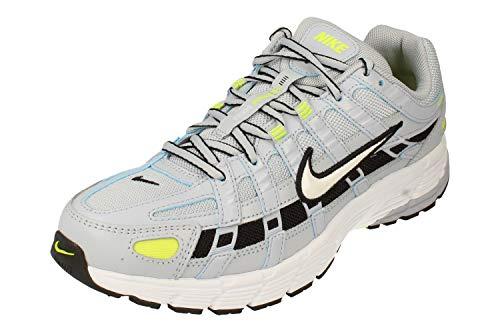Nike BV1021-008, Running Shoe Mujer, Sky Grey/White-Lemon Venom-Black, 38 EU