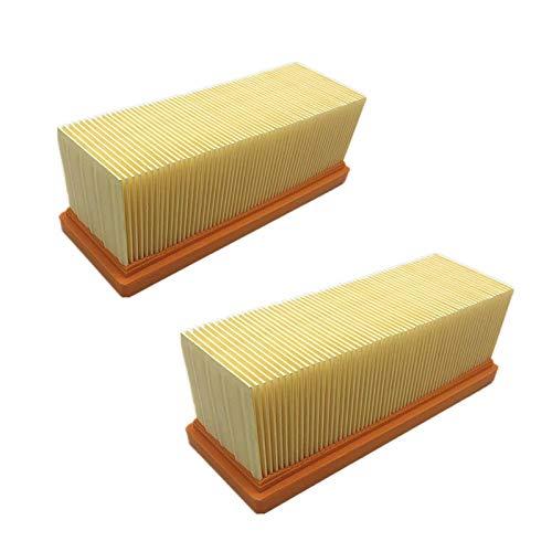 LIUWEI Filter Fit für Karcher SE3001 SE 2001 SE6.100 K2701 K2601 6.414-498.0 Hohe Qualität und langlebig (Color : 2pcs)