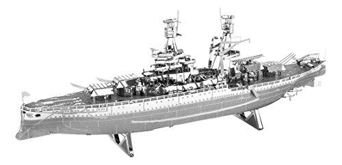 Fascinations Metal Earth 3D Laser Cut Model Military USS Arizona Ship -  5061097