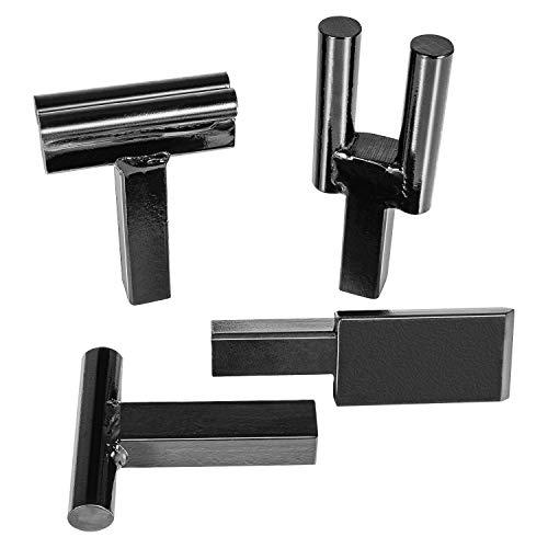 1 Inch Blacksmith Anvil Hardy Tool Set – Hot Cut, Creasing Tool Stake, Bottom Fuller, Turning Bending Scrolling Fork