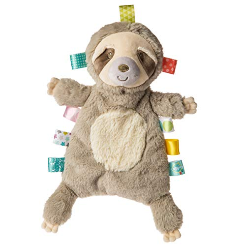 Taggies Lovey Soft Toy, 11-Inches, Molasses Sloth