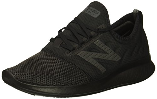 New Balance Women's FuelCore Coast V4 Running Shoe, Black, 12 D US