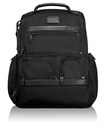 Tumi Alpha 2 Kompakter Laptop Brief Pack-Rucksack, Schwarz, 26173D2