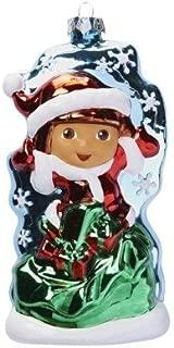 Dora The Explorer Glass Blown Christmas Ornament Nickelodeon