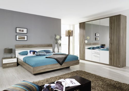 Rauch Humo Dormitorio Juego Completo de Cama 180 x 200, Armario ...